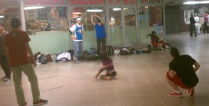 Breakdancers!